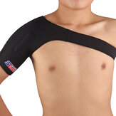 ShuoXin SX642 Sports Fitness Magnetic Single Shoulder Brace Support Strap Wrap Belt Band Pad