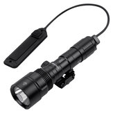 WURKKOS WKC05 1000LM XPL Long Range Shooting Tactical Flashlight Professional Hunting Light with Remote Pressure Switch