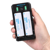 ASTROLUX® SC02 Type-C QC 3.0 Quick Charge USB Battery Charger Dual-slots For Li-ion/IMR/INR/ICR Ni-MH Ni-Cd 21700 18650 26650 Flashlight Battery
