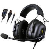Игровая гарнитура Somic G936N 7.1 с объемным звуком USB 3.5 мм ENC Наушники с шумоподавлением и микрофоном