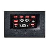 HotRc BX200 2-7 S Alçak Gerilim Sesli Alarm Lipo Batarya RC Uçak için Gerilim Test Cihazı Metre