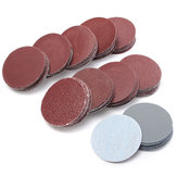 100pcs 50mm Sanding Discs 80-3000 Mixed Grit Sander Sandpaper Polishing Pads