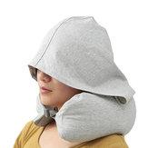 Multifuncional Em Forma de U Travesseiro Camping Sombreamento Resto Chapéu Pescoço Apoio Travesseiro Acessórios Suprimentos