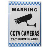CCTV Uyarı İşareti Güvenlik Video Gözetimi Kamera İşaret İşaretli Reflektif Metal