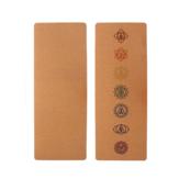 183x68 cm Cortiça Natural TPE Yoga Esteira Antiderrapante Academia Esteiras Tapetes de Treinamento Aptidão Esteira de Esportes Equipamento de Proteção Esportiva com Armazenamento Bolsa