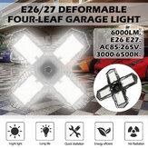 E26 / E27 LED Ampoule de garage 2835SMD Plafond à facettes multiples Lampe d'atelier pliable Éclairage de décoration intérieure