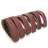 6pcs Mixed Grit Sanding Belts Set 2x72 Inch 36-150 Grit Abrasive Sanding Belts