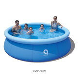 JILONG 300x76cm 1-5 People Swimming Pools Above Ground Inflatable Bathtub Swimming Pools for Kids and Adults