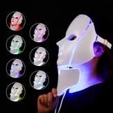 LED Colorful Acne Removing Neck Color Light Beauty Instrument Brightening and Rejuvenating Face Mask