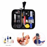 Andu 147Pcs Professional Watch Strap Remover Watch Repair Tools Kit with Black Carrying Case