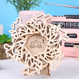 3D Wooden Music Box DIY Mechanical Model Eight Sound Box Assembling Puzzle Toy