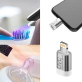 Mini Anında Telefon Sterilizatör Taşınabilir UV Dezenfeksiyon Makinesi Için Yıldırım Tip Arayüzü Sterilizasyon Aletler