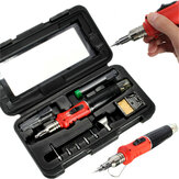 HS-1115K 10 in 1 Welding Kit Blow Torch Professional Butane Gas Solder Iron Soldering Tools