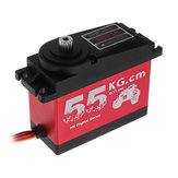 CYS S0650 Large 55KG HV High Torque Metal Gear Digital Servo dla RC Car Boat Airplane