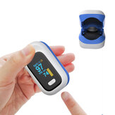 BOXYM YK-80X Mini OLED Pulsoksymetr z zaciskiem na palec Home Heathy Blood Oxygen Saturation Monitor