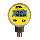 Digitale Hydraulische Drukmeter 0-250BAR 25Mpa 3600PSI BSP1 / 4inch Base Entry