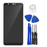 LCD Display + Touch Screen Digitizer Replacement With Repair Tools For Huawei P Smart FIG-LX1 LX2 L21 L22