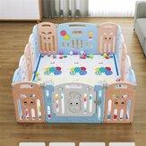 Baby Opvouwbaar Veiligheidshek Kinderbox Indoor Kids Protection Play Yard 12/14 Pannels