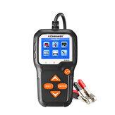 KONNWEI KW650 tester akumulatora 6V 12V akumulator samochodowy do motocykla analizator systemu kolorowy wyświetlacz ładowanie samochodowe narzędzie diagnostyczne narzędzie do wykrywania