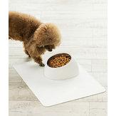Jordan&JudyPetСобакаЧаша From Xiaomi Youpin Противоскользящая Кот Блюдо Наклонная кормушка для домашних животных с основанием, подход