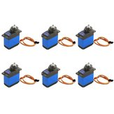 6PCS MG92B Robot 13.8g 3.5KG Torque Metal Gear Digital Servo dla RC Airplane