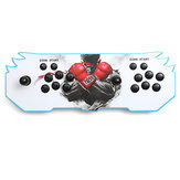 Pandorabox's Key 6S 1388 In 1 Retro Video Games LED HD Home Arcade Game Console Double Stick
