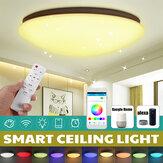 AC85-265V 114LED Wifi Music Ceiling Lamp Controle Remoto Quarto Sala