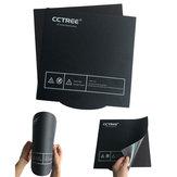 CCTREE® 235 * 235mm Magnético Flexível Cama Aquecida Adesivo Cmagnet Placa de Superfície de Construção Com Cola Traseira para Ender-3 Impressora 3D