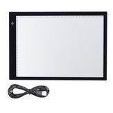 A3 / A4 Tracing Light Box Ultra-Thin Portable Tracer Copy Board Température réglable Dimmable pour la luminosité Artcraft Sketching Animation A3 Planche à dessin Light Drawing Board Kids