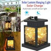 LED Solarbetriebene Hängelaterne Licht Outdoor Gartentisch Fairy String Lampe Wasserdichte Innenhof Dekoration