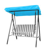 Outdoor 3 Seater Garden Swing Chair Replacement Canopy Spare Fabric Waterproof Cover