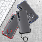 Bakeey for Xiaomi Mi Note 10 Lite Case Frameless Ultra Thin Matte with Finger Ring Hard PC Protective Case Non-original