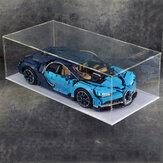 Tela de acrílico faça você mesmo Caso para LEGO 42056 42096 42083 911 RSR Technic Bugatti Chiron