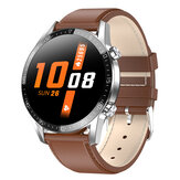 [ECG Monitor] Bakeey L13C bluetooth Music Heart Rate Blood Pressure Oxygen Monitor Notification Push IP68 Waterproof Smart Watch