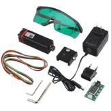 NEJE 20W Láser Módulo DIY Kit 450nm Profesional Continuo 5.5W Láser Módulo de grabado de corte Luz azul con TTL / PWM Modulación para Láser Máquina de corte / grabado CNC DIY Láser Compatible con Arduino