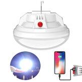 100LED 500W USB ricaricabile senza fili ultra luminoso lampadine per inondazioni esterne con ganci impermeabili campeggio tenda per tende e banca di alimentazione per telefono