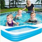 IPRee® 180 * 140 * 60cm / 200 * 150 * 50cm / 262 * 175 * 51cm حمام سباحة قابل للنفخ في الهواء الطلق حديقة