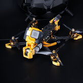 Flywoo Mr.Croc-HD 6 Inch 6S Freestyle FPV Racing Drone BNF DJI FPV Air Unit F7 Bluetooth FC GPS 1750KV 50A BLheli_32 ESC Gold
