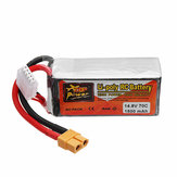 ZOP Power 14.8V 1500mah 70C 4S Lipo Battery XT60 Plug