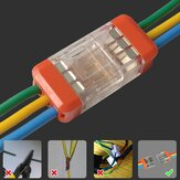 LT-33 3Pin Quick Wire Connector Universele compacte elektrische LED-lamp Push-in Butt Conductor Terminal Block 450V