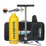 DEDEPU 1L Комплект для подводного плавания с кислородным баллоном, воздушный баллон с подводным оборудованием для подводного плавания Насос