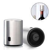 Círculo Joy Smart Bottle Stopper Aço Inoxidável Vacuum Memory Bottle Stopper Rolha de Beber de