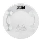 Balance digitale pour le corps 180KG LCD Balance électronique en verre