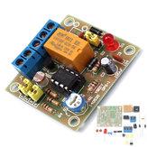EQKIT® DIY Juego de interruptor accionado con luz Tarjeta de módulo de interruptor de control de iluminación con fotosensible DC 5-6V