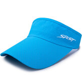 Men Women Adjustable Sun Sports Visor Hat Cap Empty Top Dad