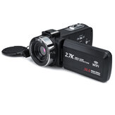 3 Inch Ultra HD Digital DV Camcorder 2.7K 16X Zoom 30MP Video Camera for Live Vlogging Broadcast