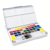 18/12/24/36 Cor Aquarela para Crianças Pintura Desenho Aquarela Set Art Paint Supplies
