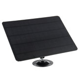 10W 5V High Efficient Monocrystalline Solar Panel 3M Micro USB Cable Waterproof Compatible with Different USB Port Camera