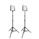 TRAVOR L4500 LED Video Light 2 Set Photographic Light with Tripod for Studio YouTube Video Shooting Photography