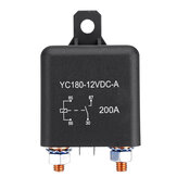 12V 200A ON/OFF Switch Relay Heavy Duty Split Charge 4-Pin Terminals For Car Auto Boat Van